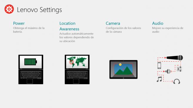 Lenovo Settings Windows 8.1