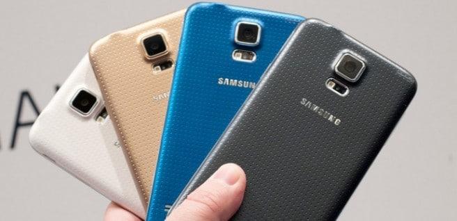 Galaxy S5 colores comparativa