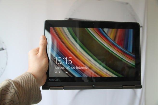 ThinkPad Yoga modo tablet