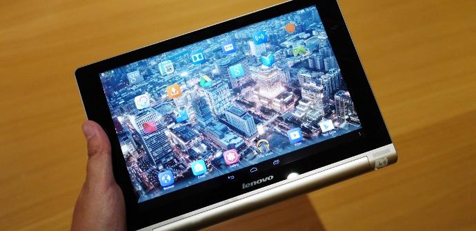 Lenovo Yoga Tablet HD+ presentacion
