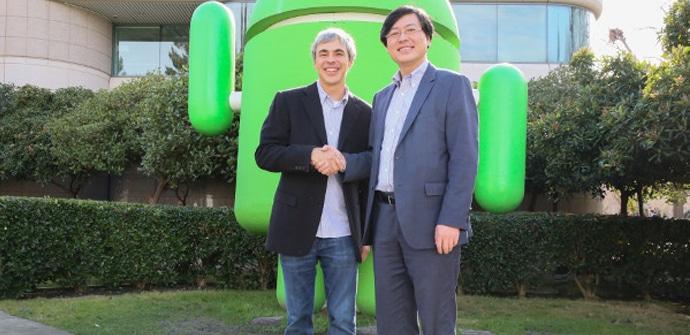 Lenovo acuerdo Google