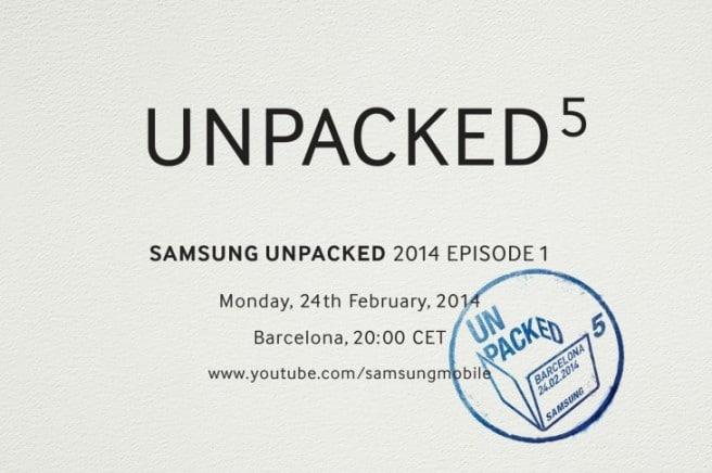 Galaxy S5 invitacion