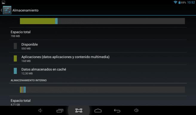Tableta 4Q Z9 memoria