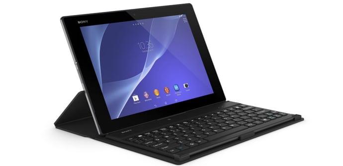 Sony Xperia Tablet Z2 teclado