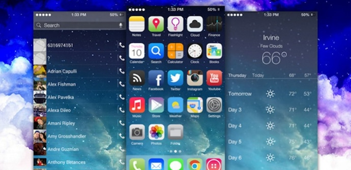 Themer iOS 7 Android