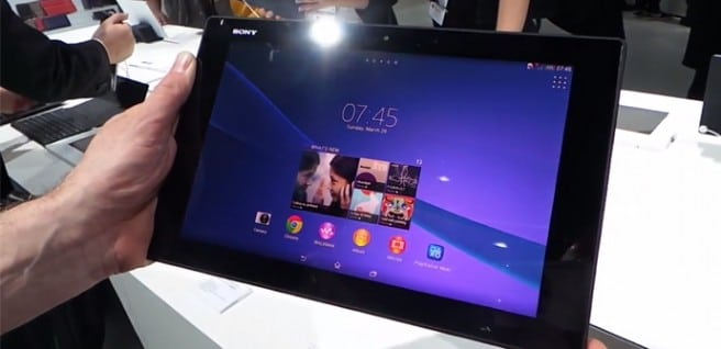Xperia Tablet Z2 hands on