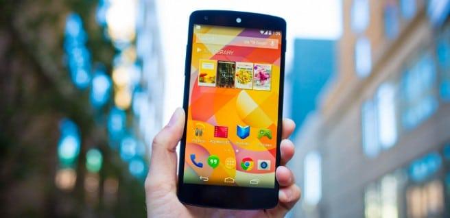 Nexus 5 vs Z2