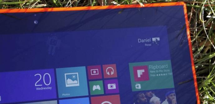 Nokia Lumia 2520 marcos