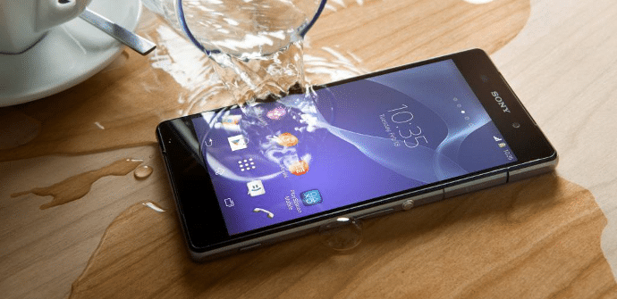 Sony Xperia Z2 resistente al agua