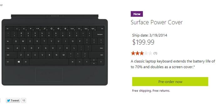 Surface Power Cover venta USA