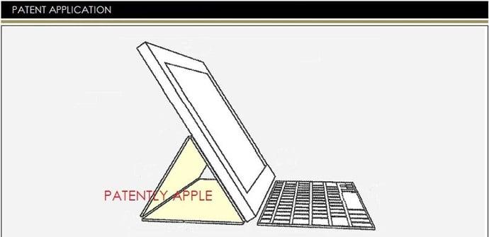 Teclado ipad patente