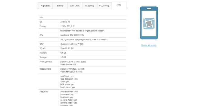 Xiaomi tablet caracteristicas
