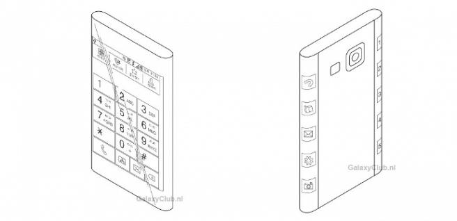 Galaxy Note 4 patente