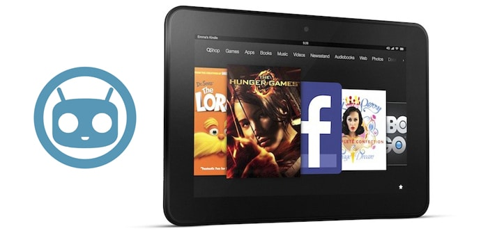 Kindle Fire HD CM11