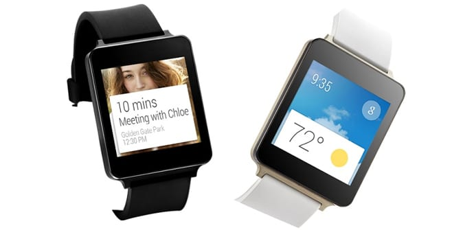 LG G Watch colores