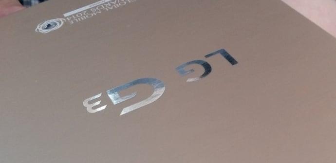 LG G3 caja