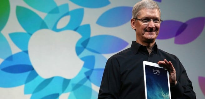 Tim Cook Apple iPad