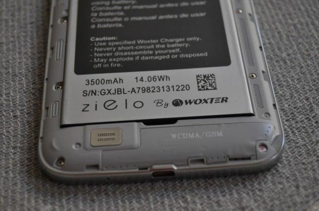 Woxter Zielo Q50 bateria