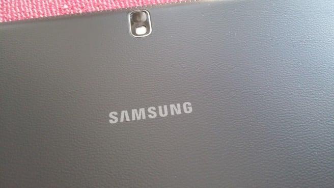 Galaxy Note Pro camara