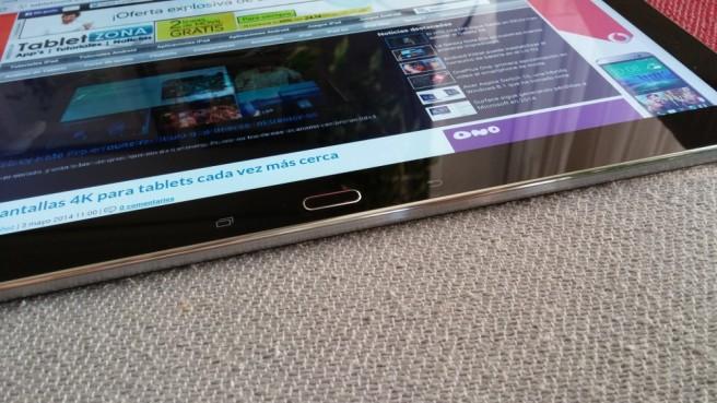 Galaxy Note Pro inferior