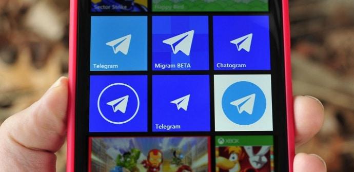 apps de mensajería telegram