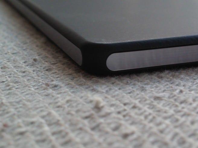 Xperia Z2 Tablet esquina