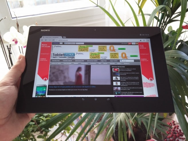 Xperia Z2 Tablet analisis