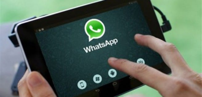 WhatsApp Tablet