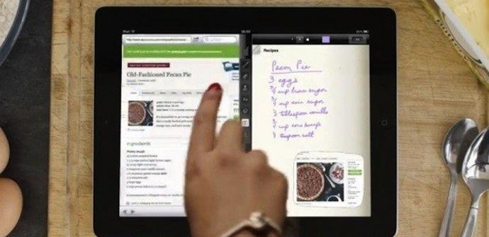 iPad pantalla partida