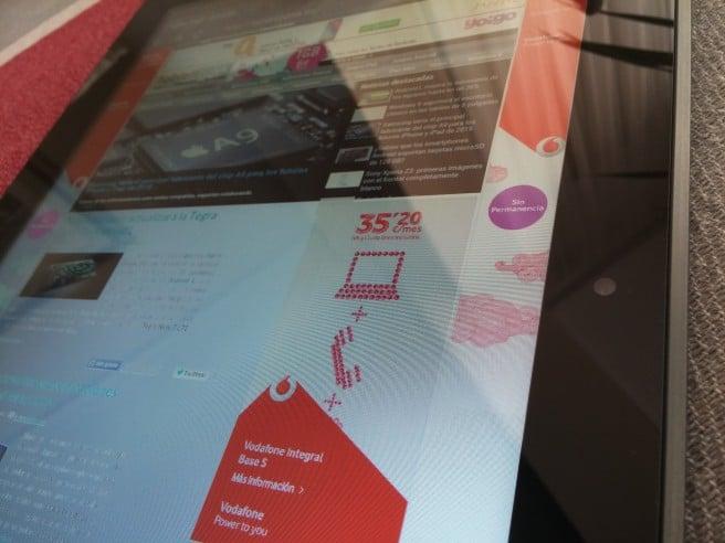 Szenio 13.3 frontal camara pantalla