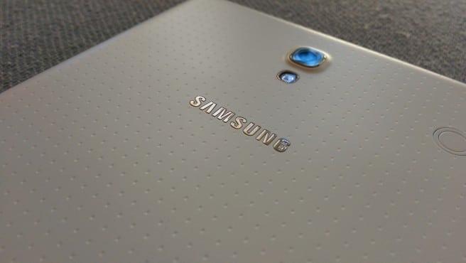 Galaxy Tab S 8.4 logo Samsung