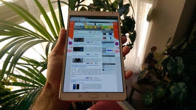 Galaxy Tab S 8.4 analisis retrato