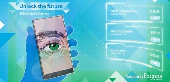 Escaner ocular Samsung