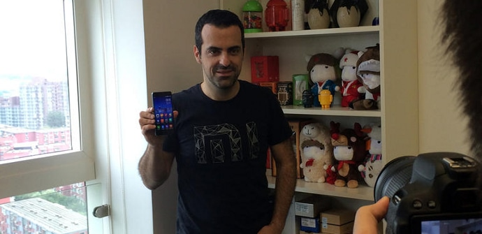 Hugo Barra Xiaomi Mi4