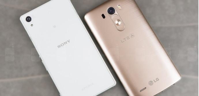 LG G3 vs Xperia Z2