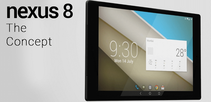 Nexus 8 concepto HTC