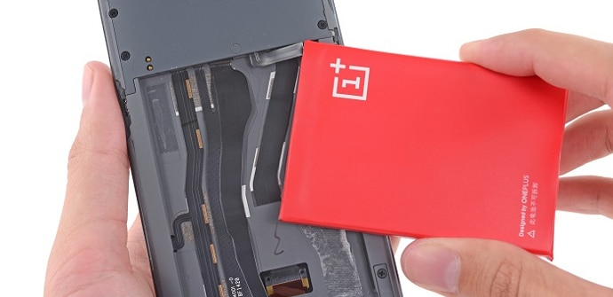 OnePlus One bateria extraible