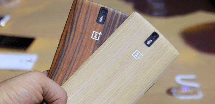 OnePlus One madera y bambu