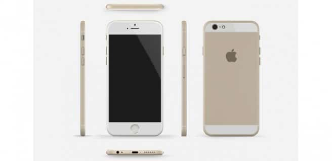 iPhone 6 frontal trasera