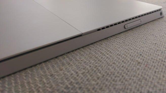 Surface Pro 3 boton fisico