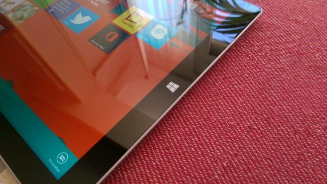 Surface Pro 3 boton inicio