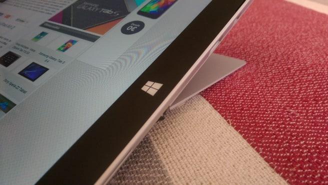 Surface Pro 3 pestaña
