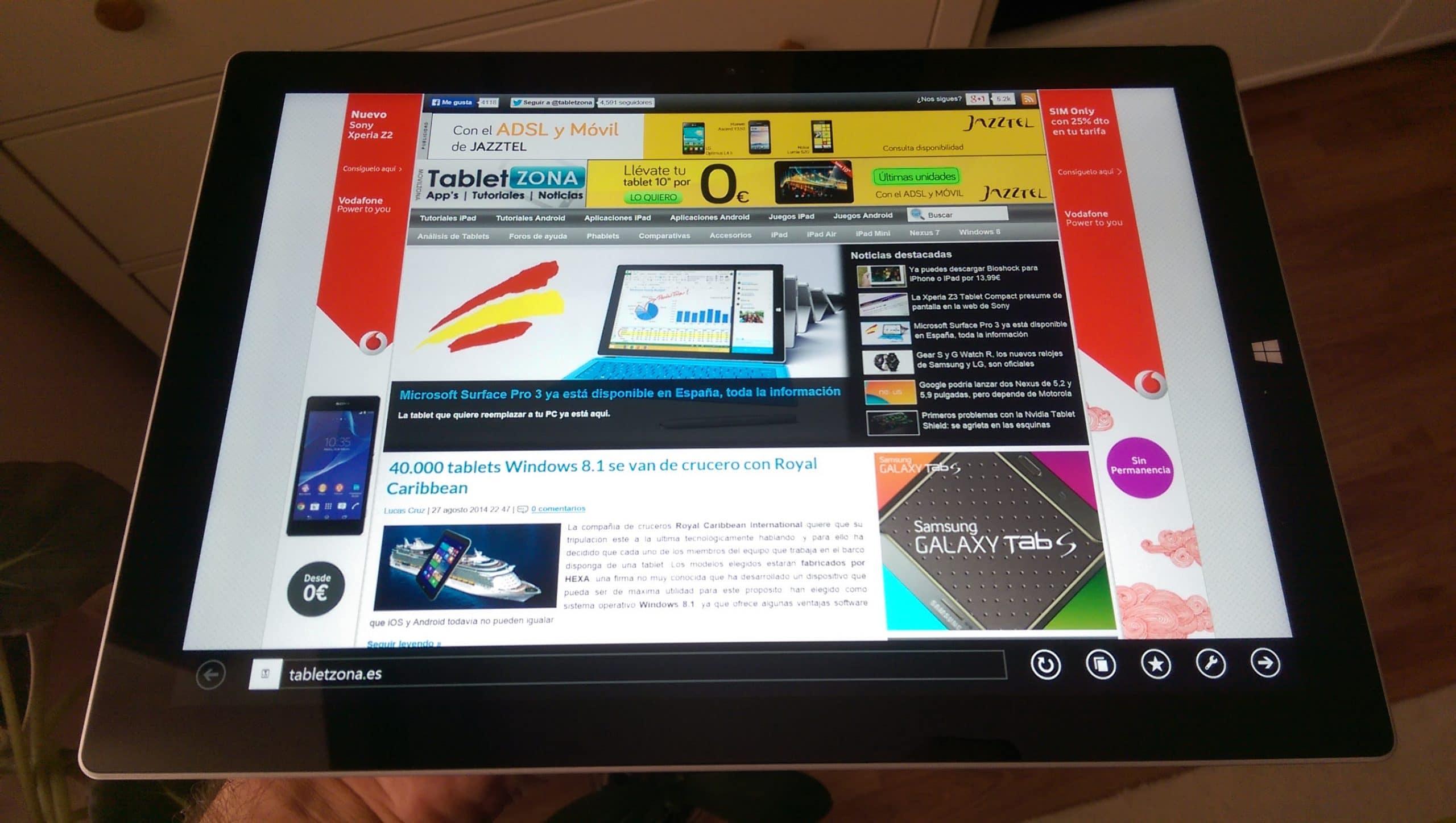 Surface Pro 3 analisis