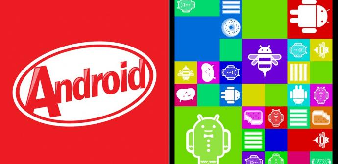 Android Kitkat cuota vs Jelly Bean