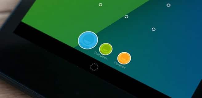 Android L soporte multiusuario