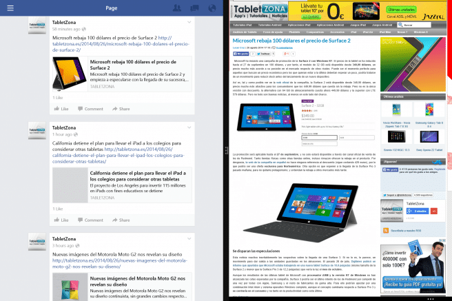 Surface Pro 3 multipantalla