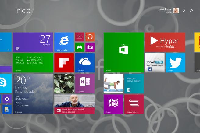 Surface Pro 3 escritorio