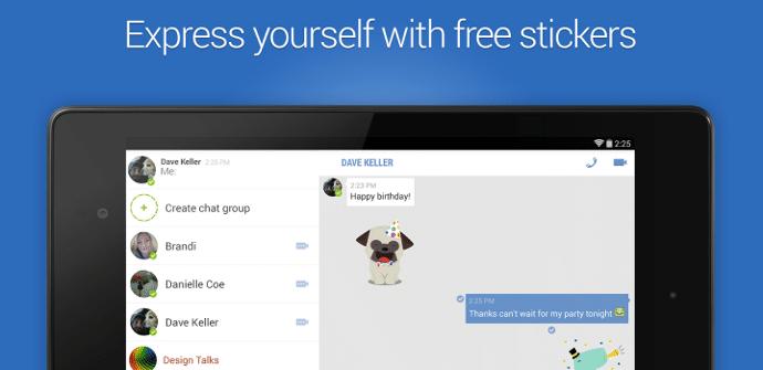 Facebook Messenger Nexus 7