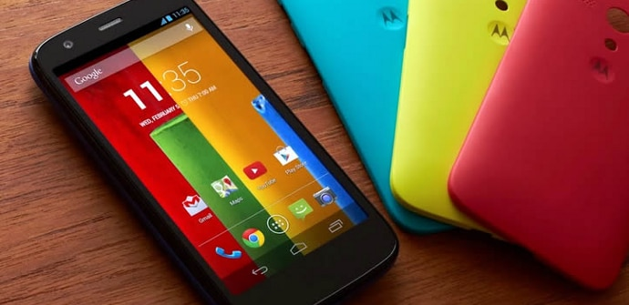 Motorola Moto G colores