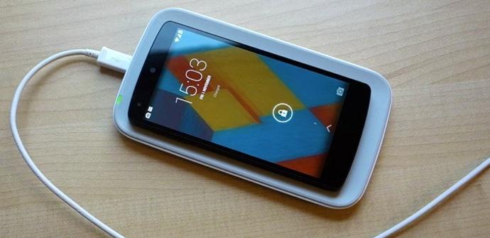 Nexus 5 carga inalambrica